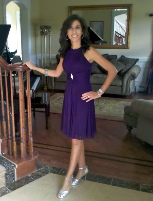 Silver Accents For A Purple Dress Match Your Shoes To And Accessories Not