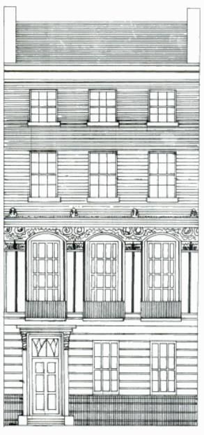 Characteristics Of The Georgian Town House Georgian Homes Townhouse Exterior Regency Architecture