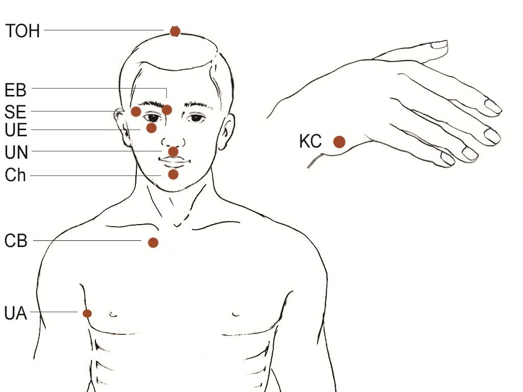 Eft Tapping Points Diagram