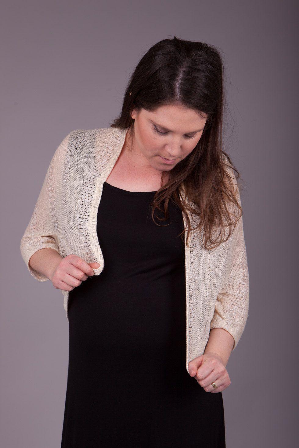 Gold knitted shrug gold cardigan maternity cardigan by sheeebz on
