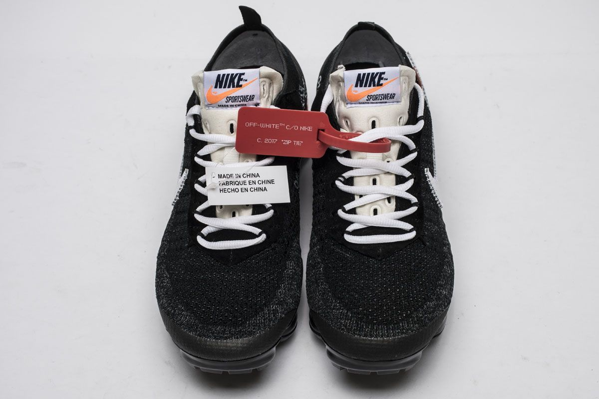 the best attitude 47ce6 8b50e OFF-WHITE x Nike Air VaporMax AA3831001 Black White Shoes7