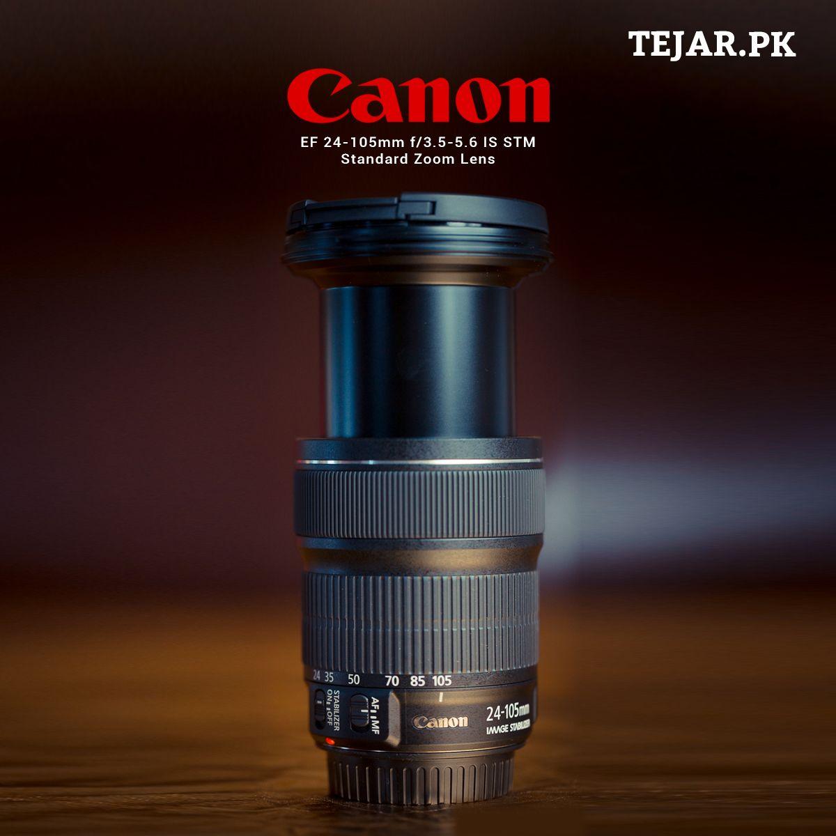 Canon Ef 24 105mm F 3 5 5 6 Is Stm Standard Zoom Lens Zoom Lens Standard Zoom Lens Canon Ef
