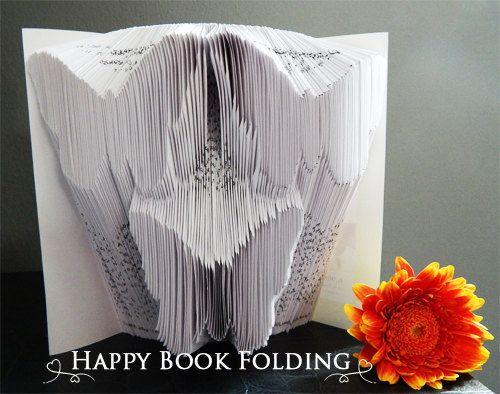 patron livre pli papillon tutorial gratuit par happybookfolding libri piegati pinterest. Black Bedroom Furniture Sets. Home Design Ideas