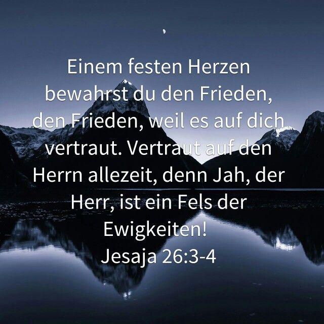 Gottvertrauen Gott Vertrauen Jesaja Spruche