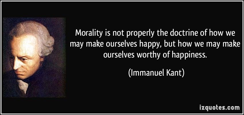 Immanuel Kant on Morality