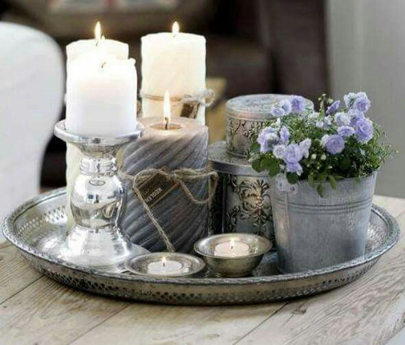 Living Room Table Decor Centerpieces Trays