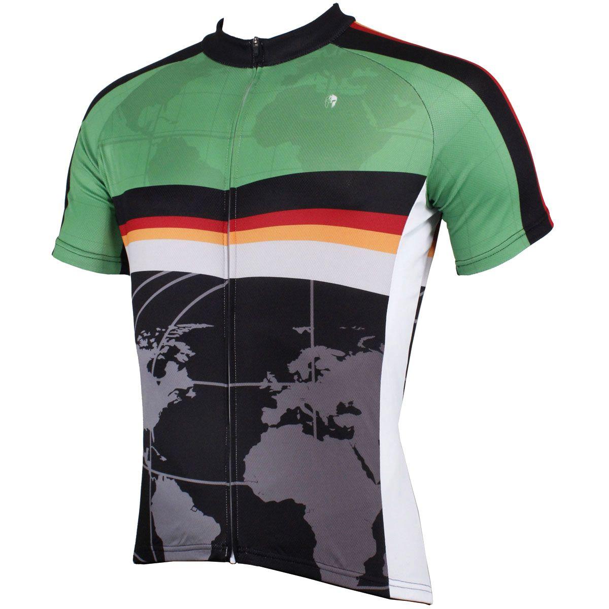 Final Clearance Sale Mens Cycling Jersey Short Sleeve Bike Wear Sports Shirt Top