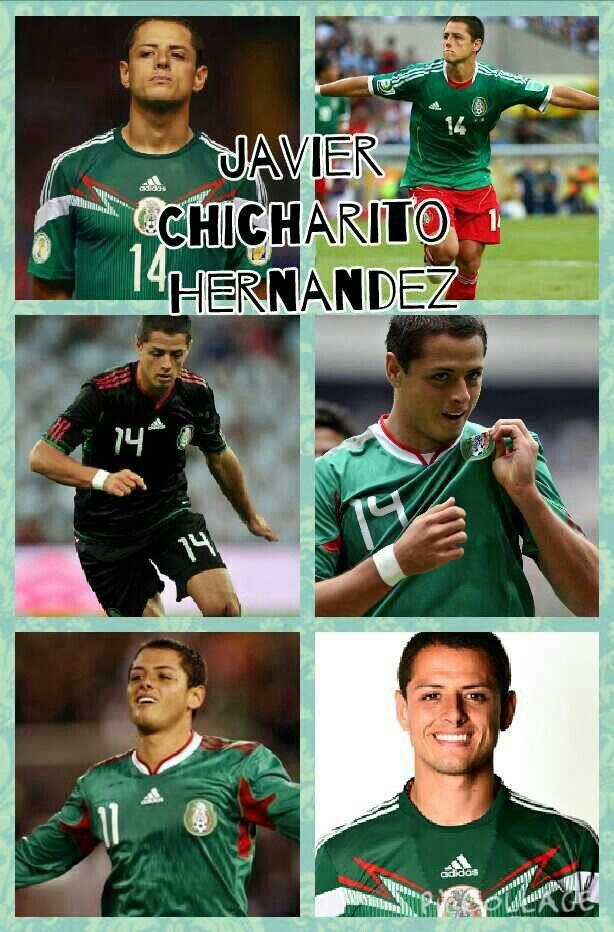 Javier Chicharito Hernandez Mexico Mexico Soccer Soccer Players Soccer Team
