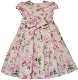 Deux Par Deux Baby /& Toddler Girls Floral Dress High Style at Low Tide NWT