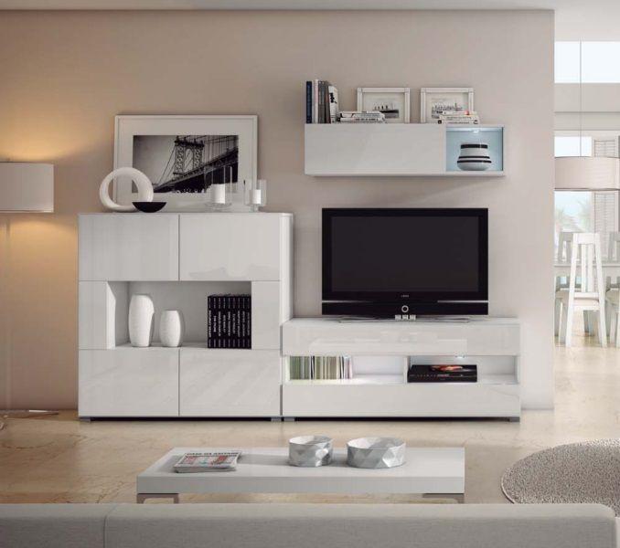 Ibiza conjunto blanco molibobil pinterest muebles salon muebles y muebles modernos - Muebles salon granada ...