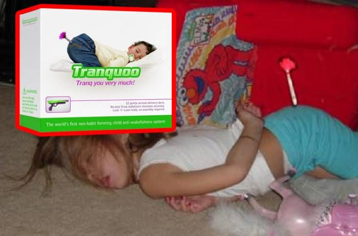 FDA Approves Tranquilizer Dart Gun For Rowdy Kids That Puts