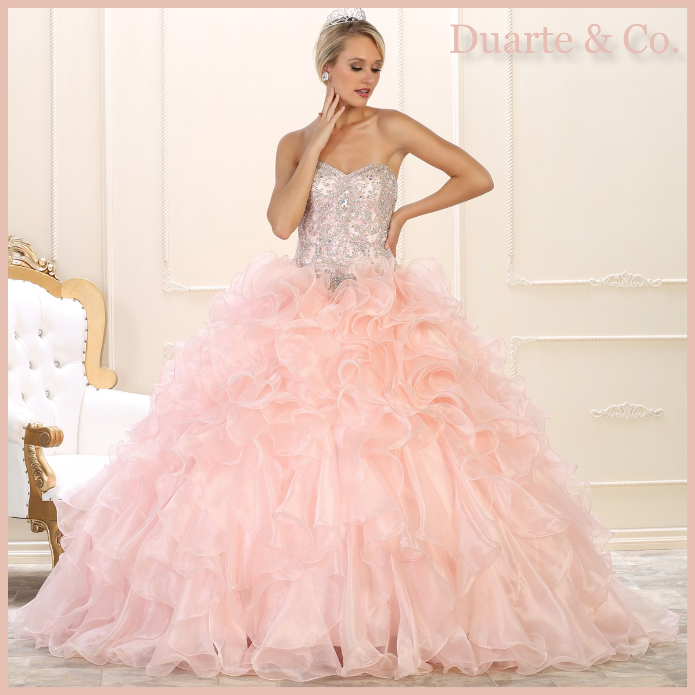 Organza Quinceanera/Sweet 16 Gown - LK102 | Sweet 16 and Gowns