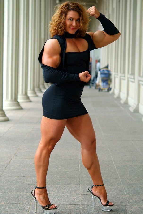muscular girl on girl erotica