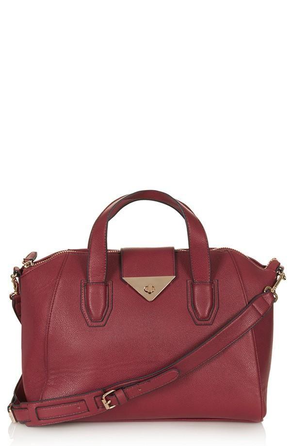913703a04be Chic burgundy Topshop satchel.   Topshop at Nordstrom   Pinterest ...