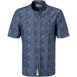 Photo of Signum short sleeve shirt men, cotton, blue SignumSignum