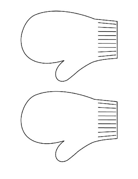 mitten outline clipart - Google Search   TK & K Art