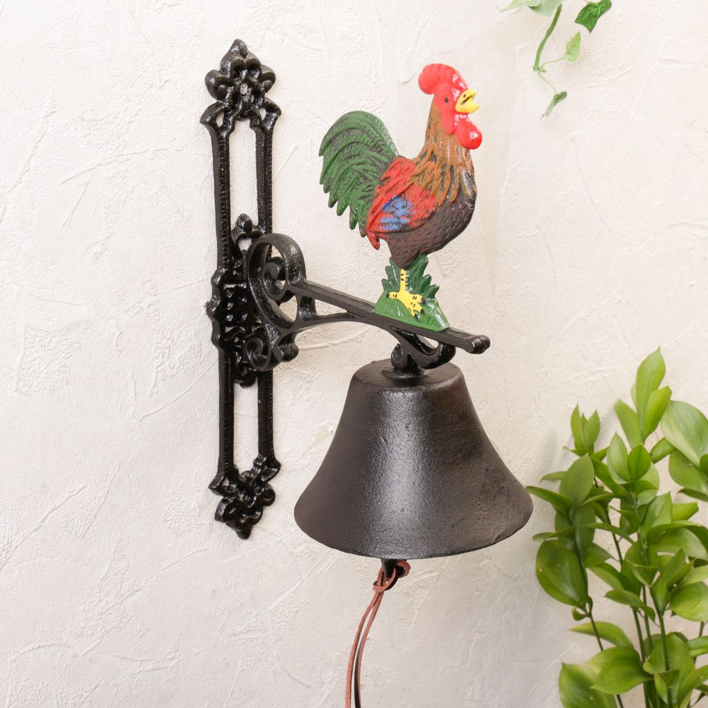 Ordinaire Crafted From Durable And Weather Resistant Cast Iron This Beautiful Door  Bell Is Perfect For Adding Country Style To Your Home.