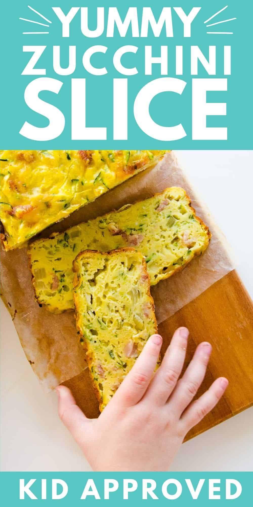 Easy Zucchini Slice | A Family Favourite | Lunchbox Idea