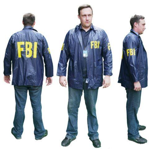 22d15b28 FEMALE-BODY-INSPECTOR-FBI-SPECIAL-AGENT-Fancy-Dress-Costume-Jacket-Patch-etc