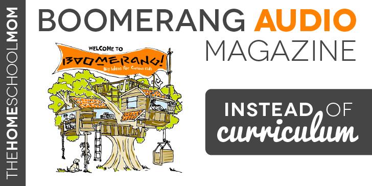 Instead of Curriculum: Boomerang Audio Magazine