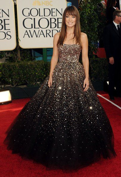 My favorite one by Marchesa - Olivia Wilde #likewearinguniverse #stunning