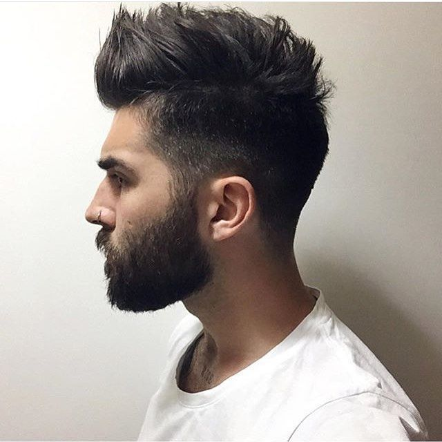 20 Trendy Short Spiky Hairstyles For Men In 2020 Beard Hairstyle Medium Hair Styles Mens Hairstyles Short