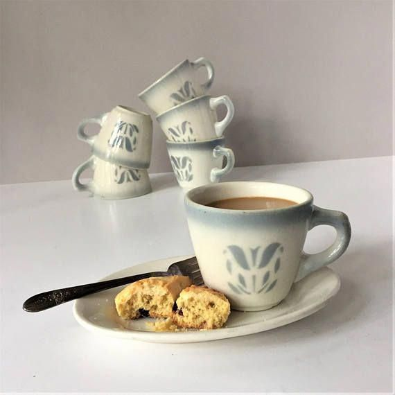 Syracuse China, Coffee Cup Set