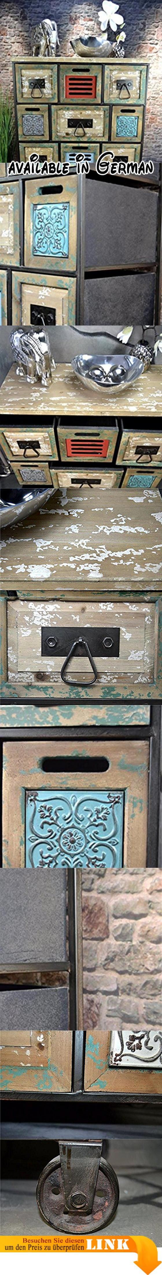B074FVHQMQ : Livitat Sideboard Kommode Metall 100 x 76 cm Vintage ...