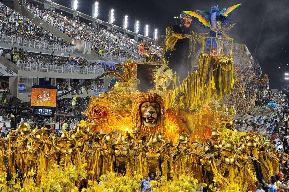 Carnival 2012 in Rio de Janeiro