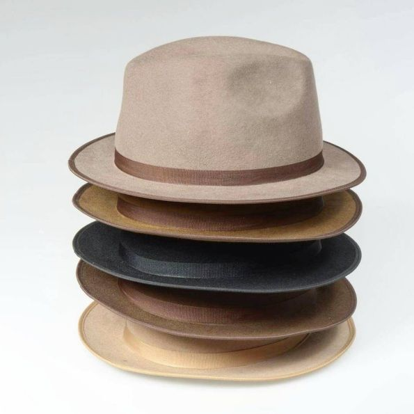 48303713d7460 Premium Hats Chapéu Fedora Aba Curta 100% Lã DE R 219 por R 158 Frete