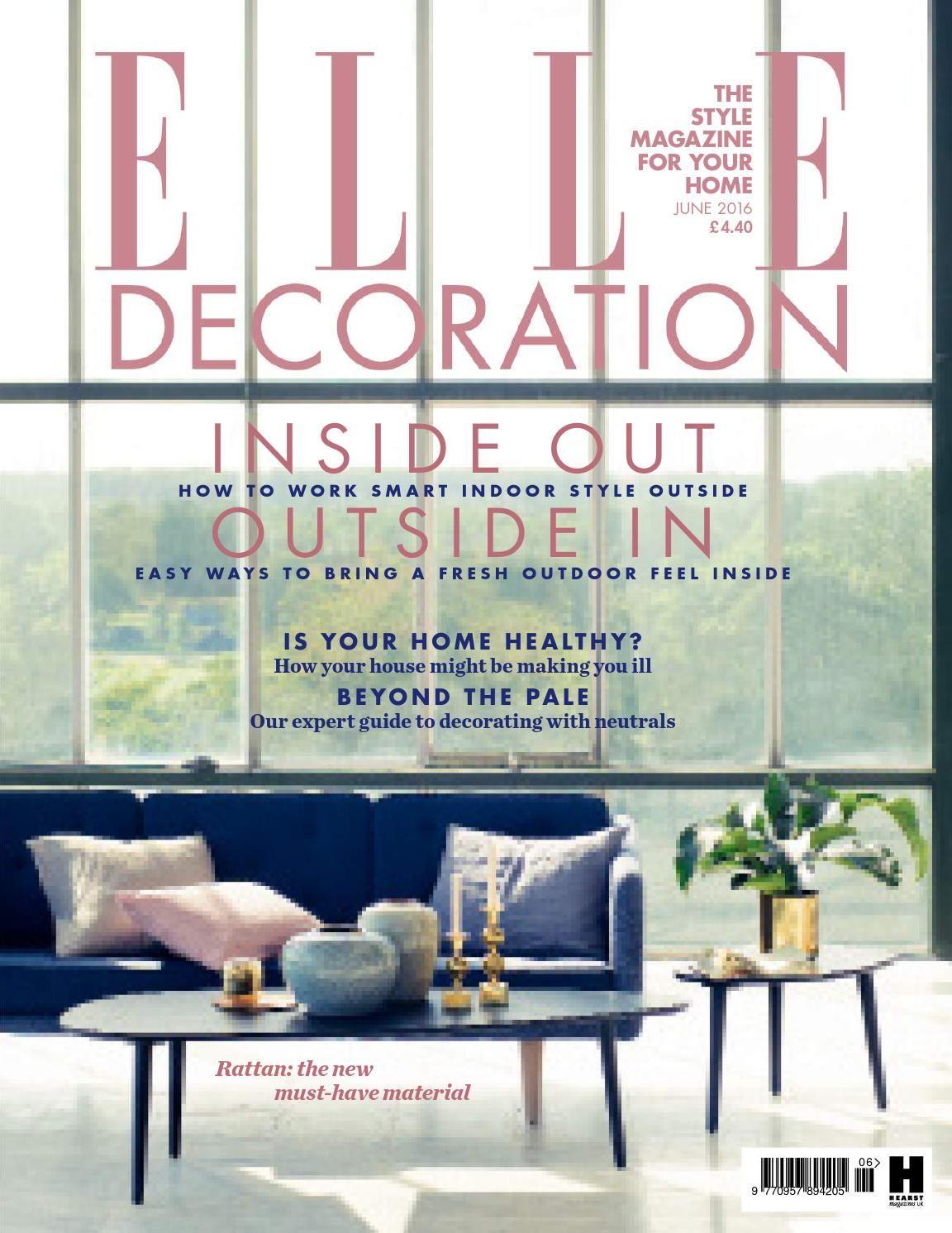 14+ Elle decor magazine subscription info