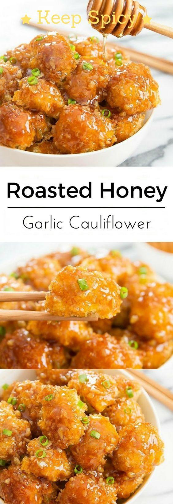 Photo of Roasted Honey Garlic Cauliflower – KeepSpicy