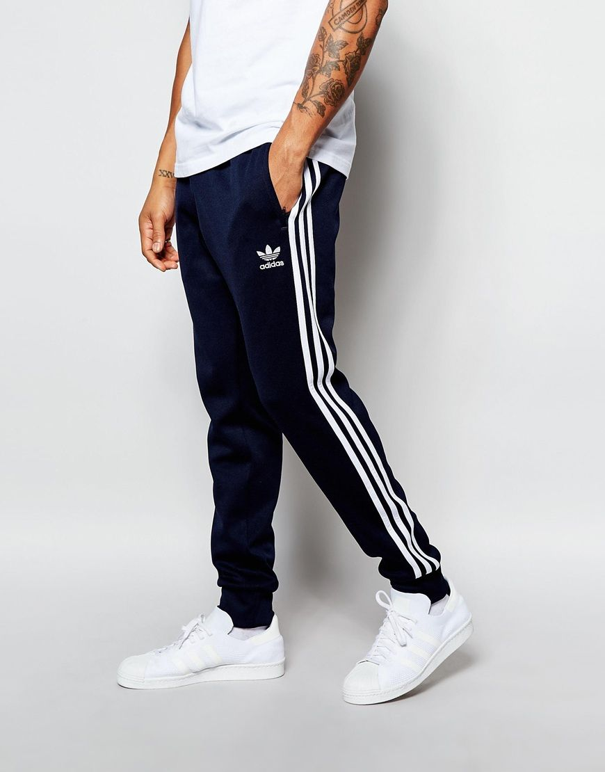 2658da724e35 Image 1 of adidas Originals Superstar Cuffed Track Pants AJ6961