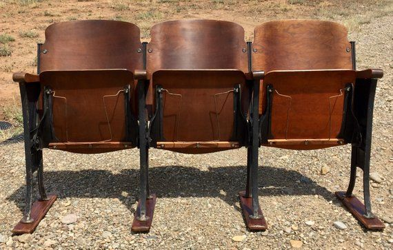 Pleasing 1920S Theatre Chairs With Hat Racks Rare Theater Seats Caraccident5 Cool Chair Designs And Ideas Caraccident5Info