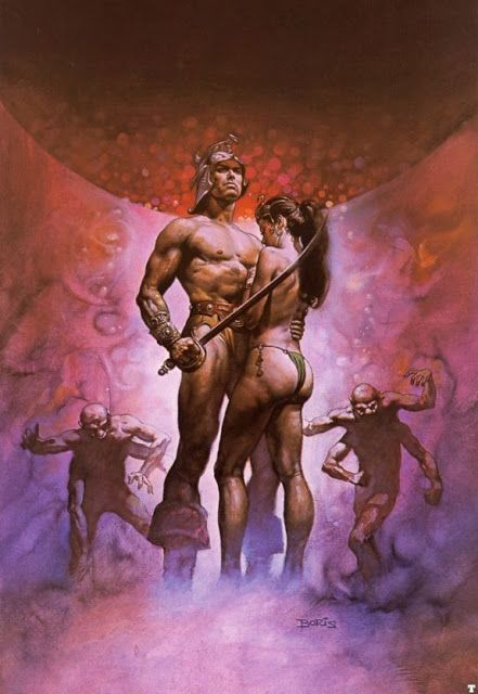 Art erotic boris vallejo fantasy