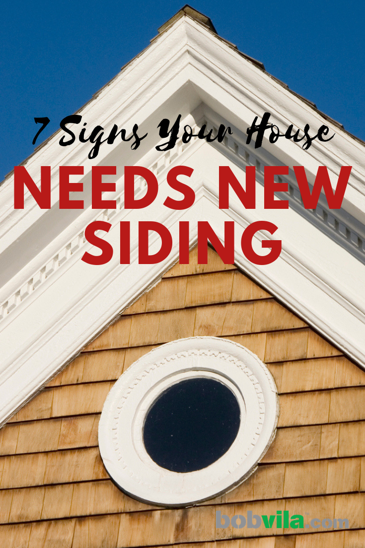 7 Signs Your House Needs New Siding Types Of Siding Siding Options Repair And Maintenance