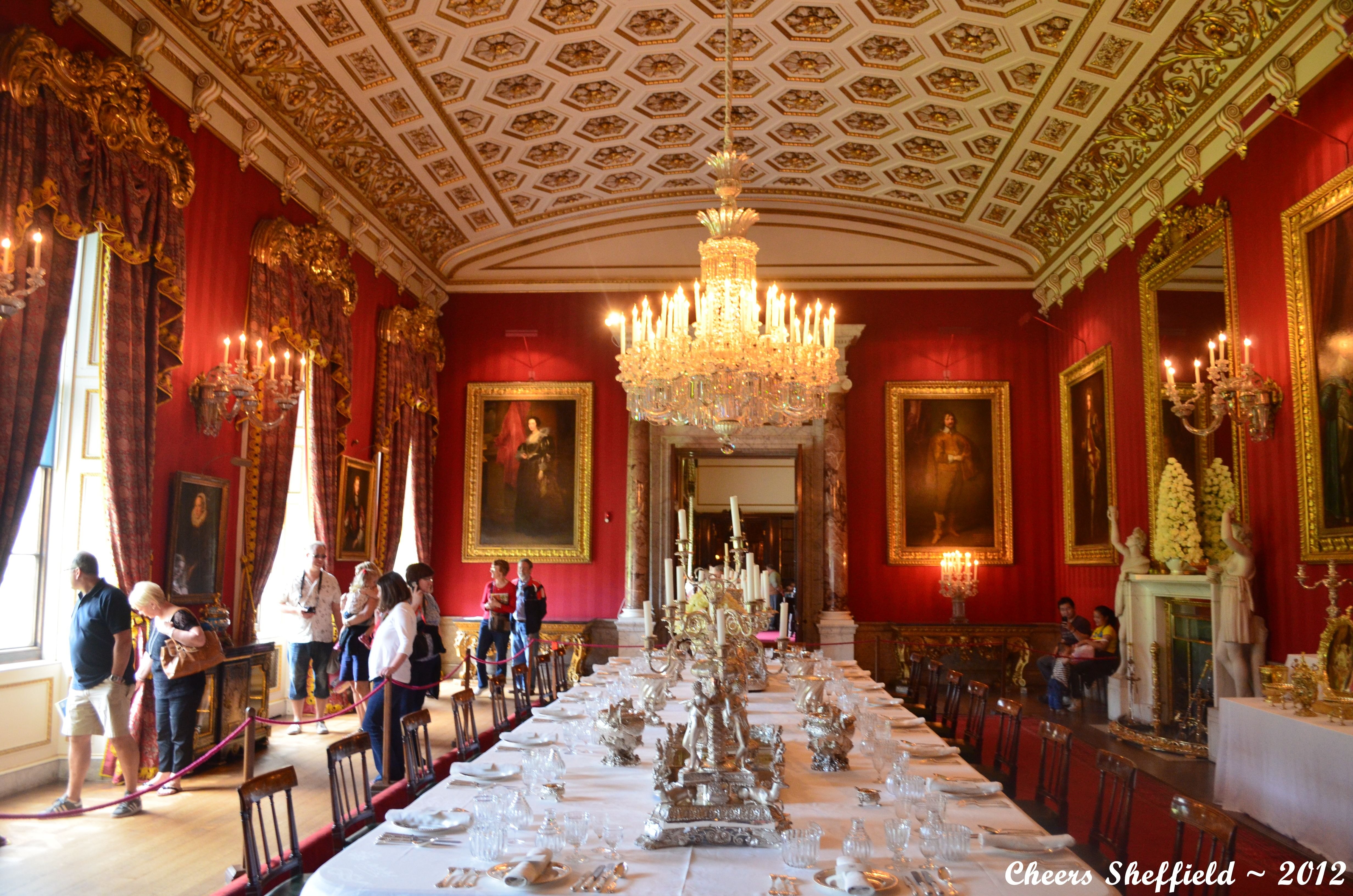 Castle howard interior 2 dining room steven feather flickr - Chatsworth House Interior Chatsworth House Sheffield Home To The Dukes Of Devonshire