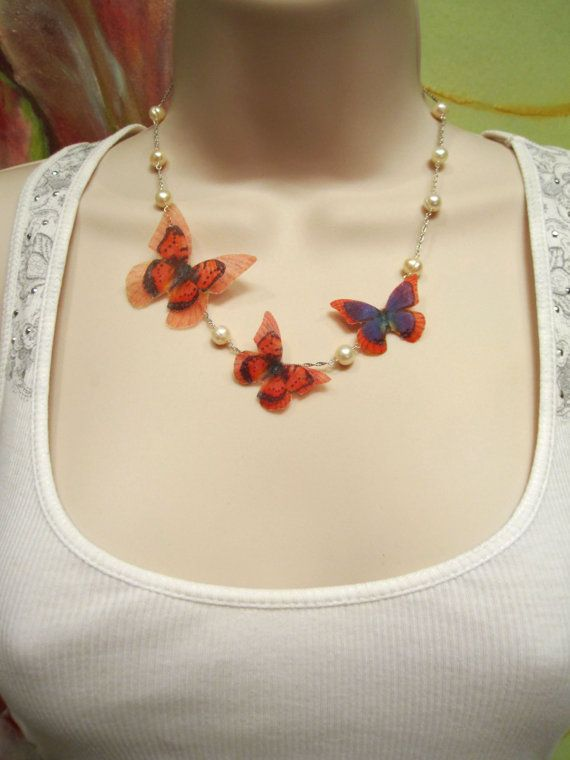 Mother's Day Present Mother and Child Butterfly by StylishJewels, $40.00