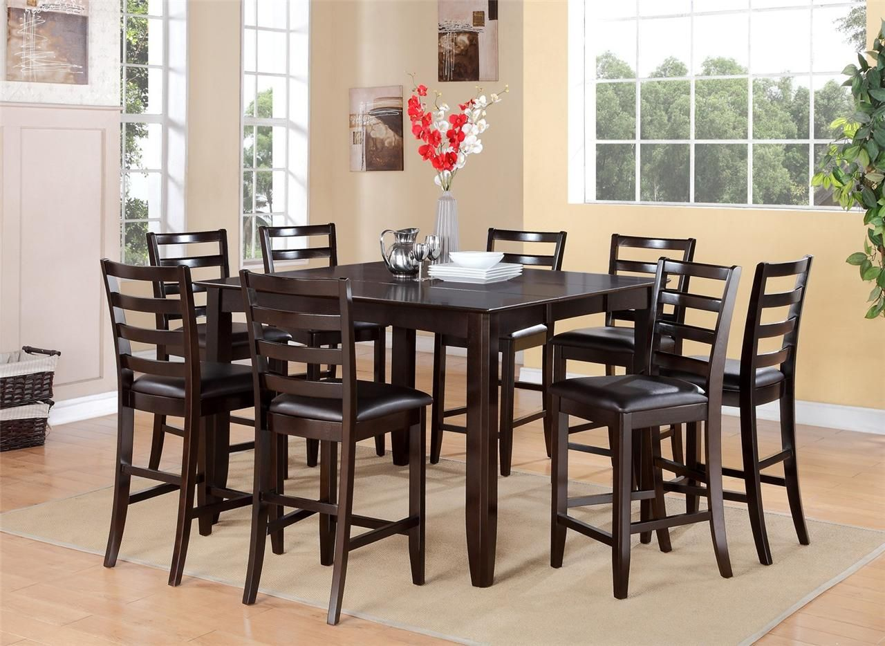 8 Person Dining Table With Leaf Oak Square Dining Table Seats 8