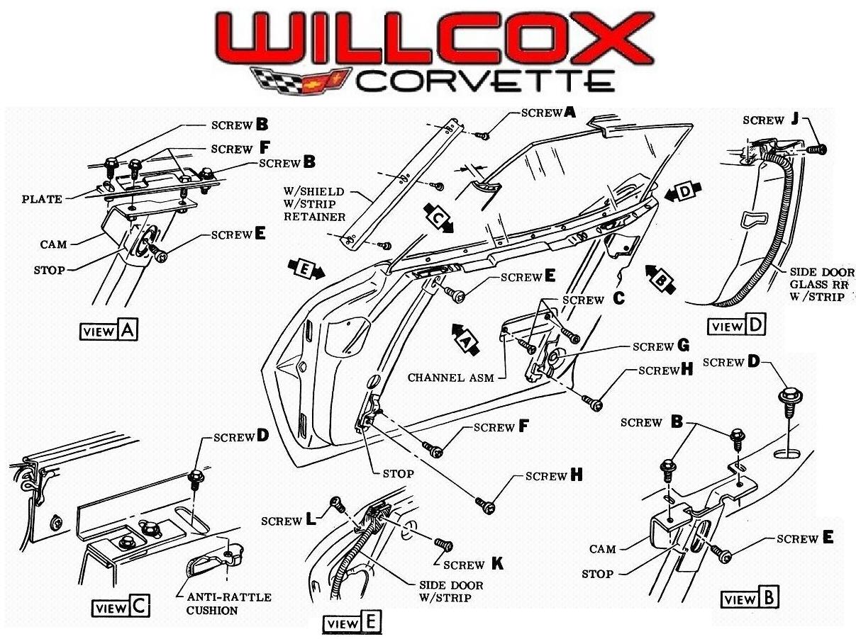Door Glass Archives Willcox Corvette Inc Glass Door Corvette Willcox