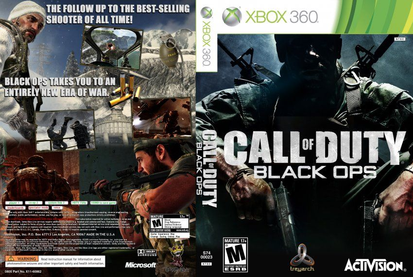 Xbox 360 Game Covers Google Search Call Of Duty Black Call Of