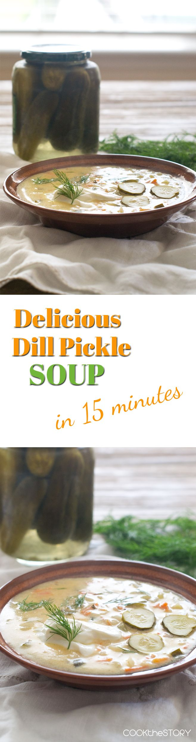 Delicious Dill Pickle Soup in 15 Minutes