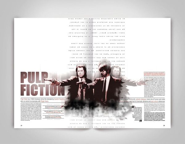 Diseño Editorial Experimental (Dobles paginas) by Boris Vargas ...
