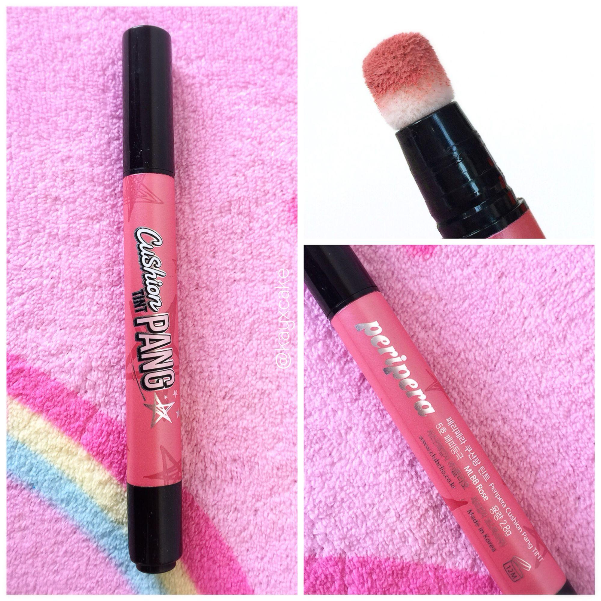 Peripera Cushion Pang Tint MLBB Rose kayxcake Makeup
