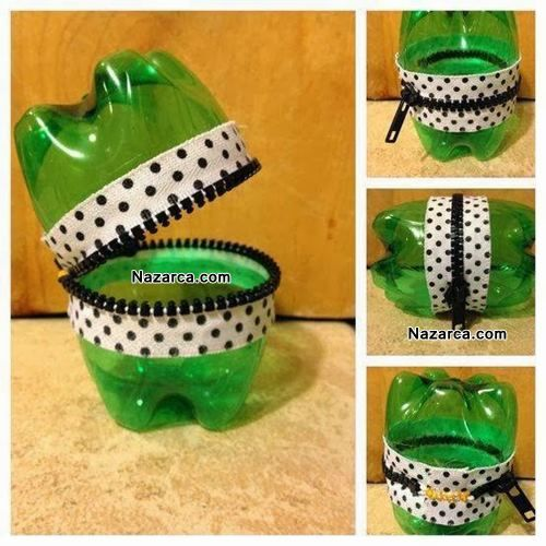 Bir plastik şişeden bir kurbağa nasıl yapılır, kolay ve basit