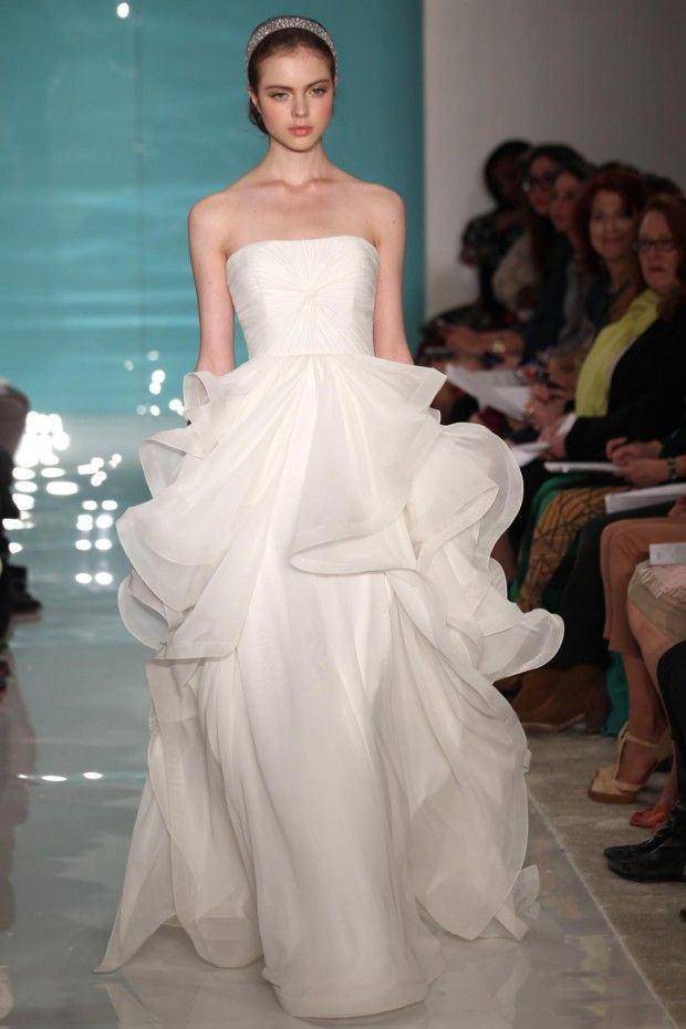 fashion friday: reem acra autumn/winter 2013 | wedding dresses