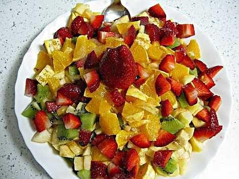 Macedonia De Fruta Casera Macedonia De Frutas Fruta Frutas