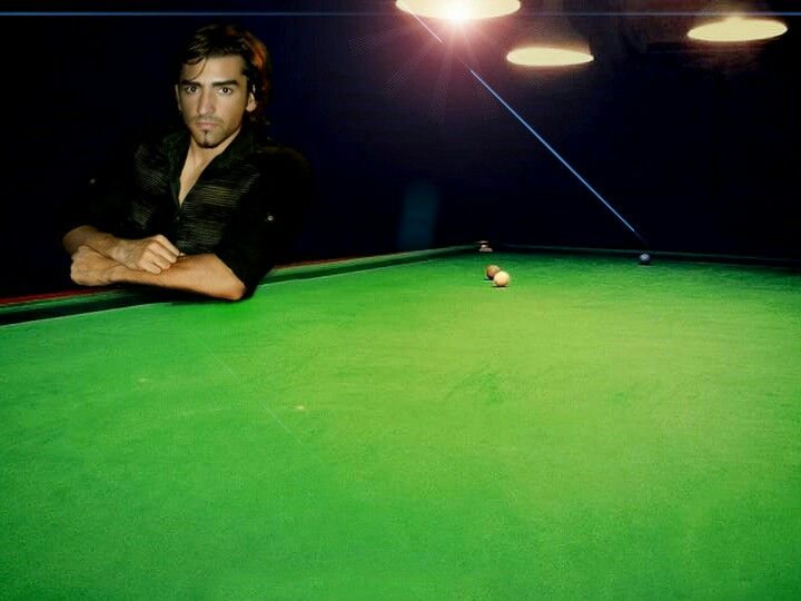 In snooker  club    India