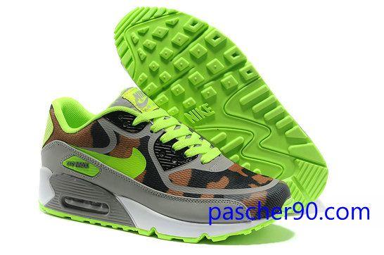Vendre Pas Cher Femme Chaussures Nike Air Max 90 TAPE 0012 en ligne magasin  en France