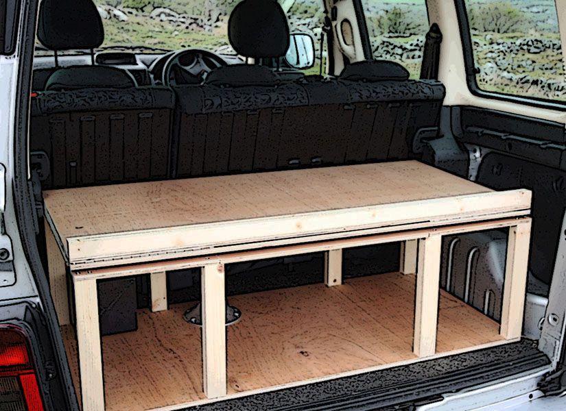 Citroen Berlingo Peugeot Partner Renault Kangoo Camper Van Conversion Module